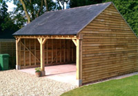 timber outbuildings